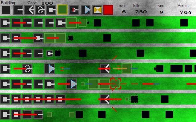 Play Pixel Blockade