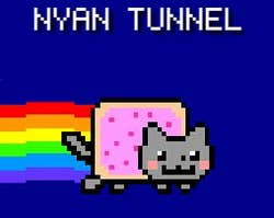 Play Nyan Tunnel