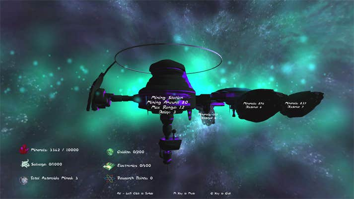 Play Asteroid Mining Station