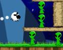 Play Sheep vs Aliens