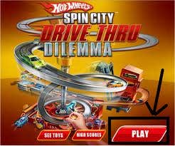 Play Spin City Drive-Thru Dilema