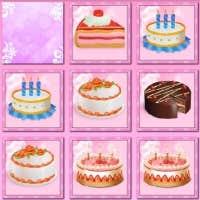 Play Birthday Cakes: Pair Matching