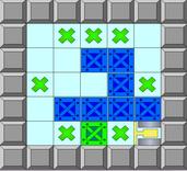 Play classic Sokoban game