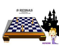 Play 8 queens