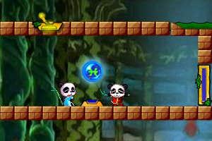 Play twin pandas