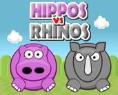 Play Hippos vs Rhinos