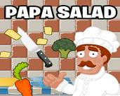 Play Papa's Salad Stall