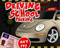 Play Driving School parking