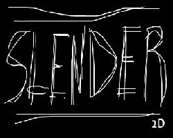 Play Slender 2D