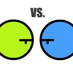 Play Green vs Blue