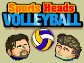 Play Sports Heads: Volleyball