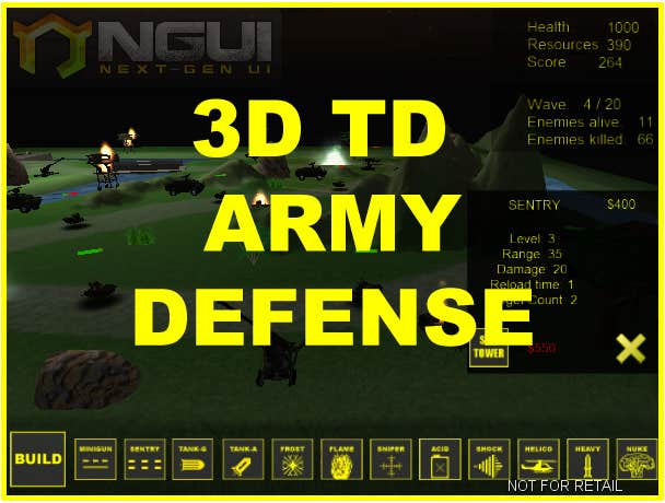 Play 3D TD ARMY DEFENSE