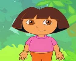 Play Dora Dress Up