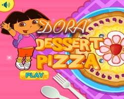 Play Dora Dessert Pizza