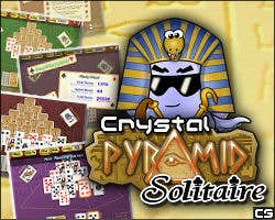 Play Crystal Pyramid Solitaire