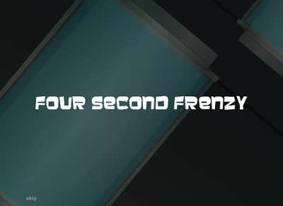 Play Four Second Frenzy