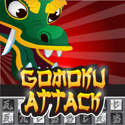 Play Gomoku Attack