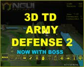 Play 3D TD ARMY DEFENSE 2
