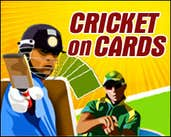 Play Cricket on Cards