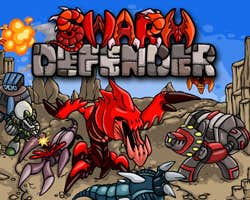 Play Swarm Defender