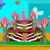 Play Castle Cake Decor