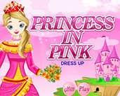 Play Princess In Pink Dress up