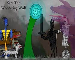Play Sam the Wandering Wolf