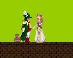 Play Adventure of  The Green King