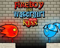 Play Fireboy and Watergirl Kiss