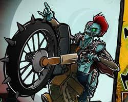 Play Atomic Zombie Motocross