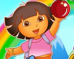 Play Dora Explorer Pick Fruit