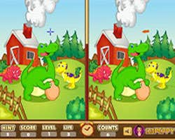 Play Dinosaur - Spot the Difference