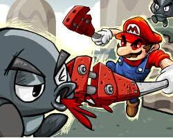Play Bloody Mario
