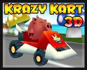 Play Krazy Kart 3D