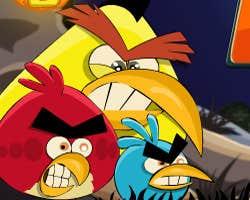 Play Angry Birds War Of Pumpkin