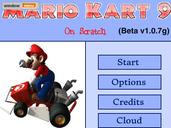 Play Mario kart 9 collab 7g