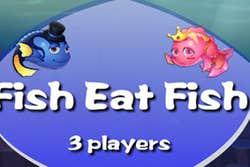 Play Fish Eat Fish 3 Players