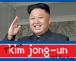 Play Pee on Kim Jong-un just for Fun Fun!