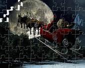 Play Santa Sleigh Puzzle