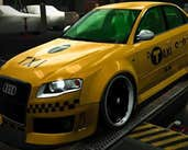 Play Audi Taxi Hidden Letters