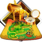 Play Finding Treasure Map