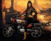 Play Moto Tomb Racer 2