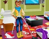 Play Clawd Wolf Messy Room Cleaning