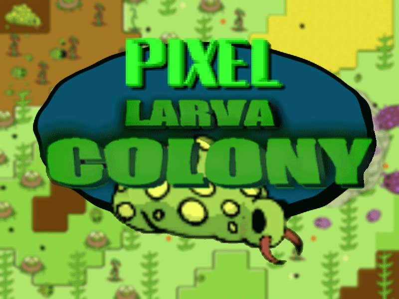 Play Larva Pixel Colony