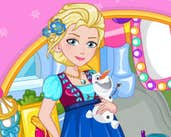 Play Elsa Mom to Be Shopping