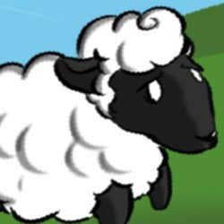 Play Run little sheep ! or the story of how he escaped being gifted during a wedding.