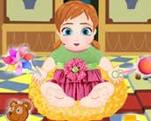 Play Baby Anna Diaper Game