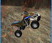 Play Stunt Racer: Volcano Escape