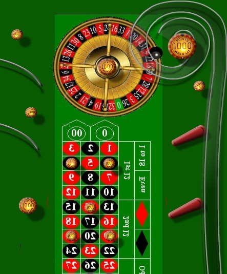 Play  Roulette 3D Multiball Pinball Game