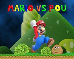 Play Super Mario vs Pou